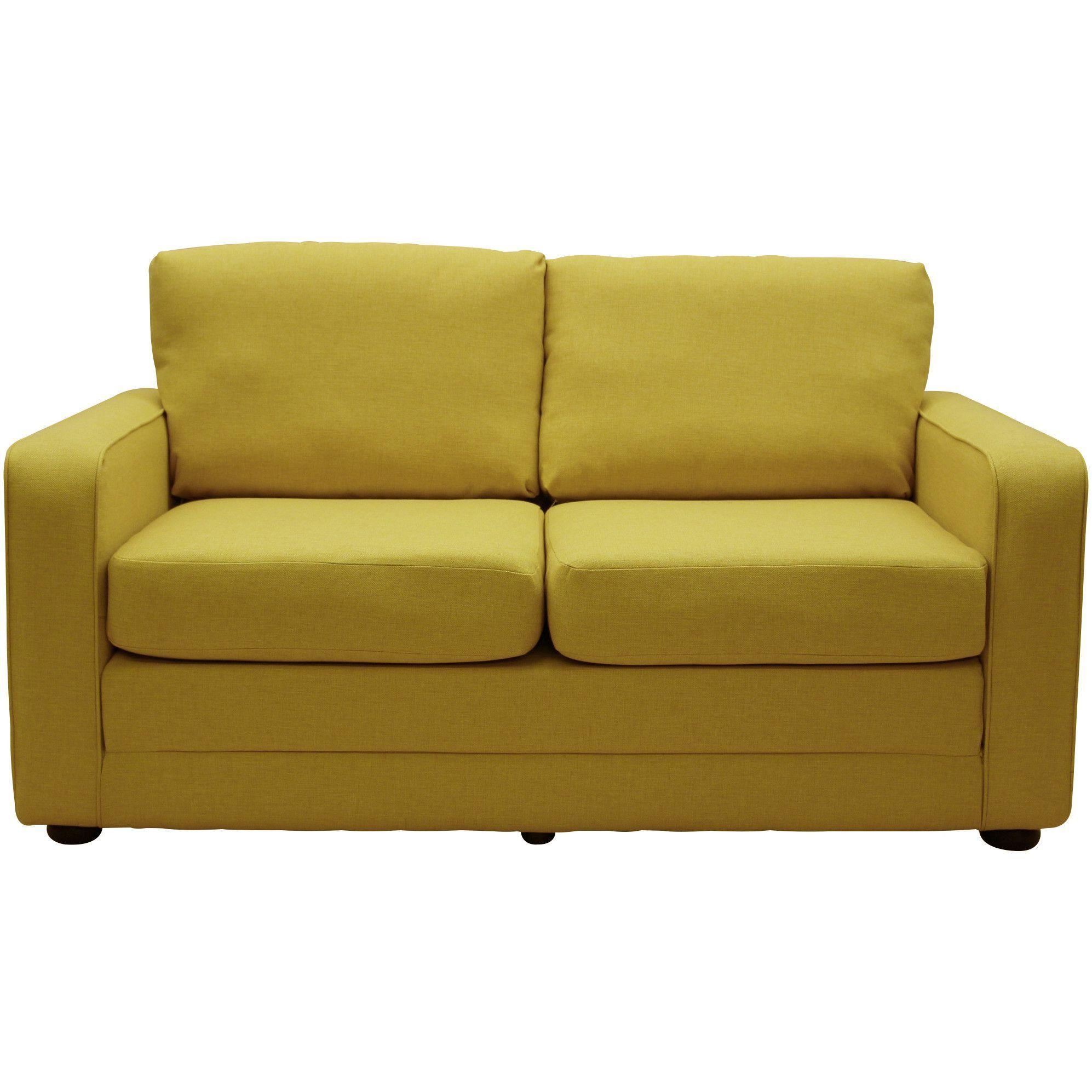 Laude Run Lillian Ultra Lightweight Sleeper Sofa Upholstery Felt Gray