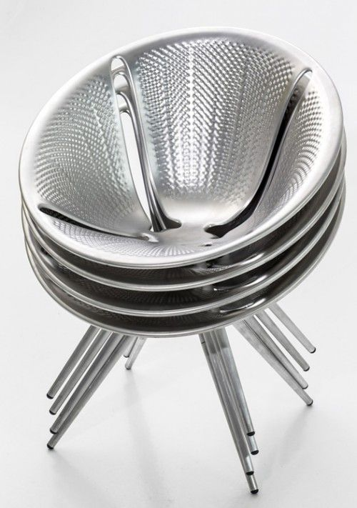 Diatom Aluminum Chair by Ross Lovegrove for Moroso | Daily Icon
