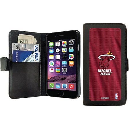 finest selection 2bea0 639c7 Miami Heat Jersey Design on Apple iPhone 6 Wallet Case by ...