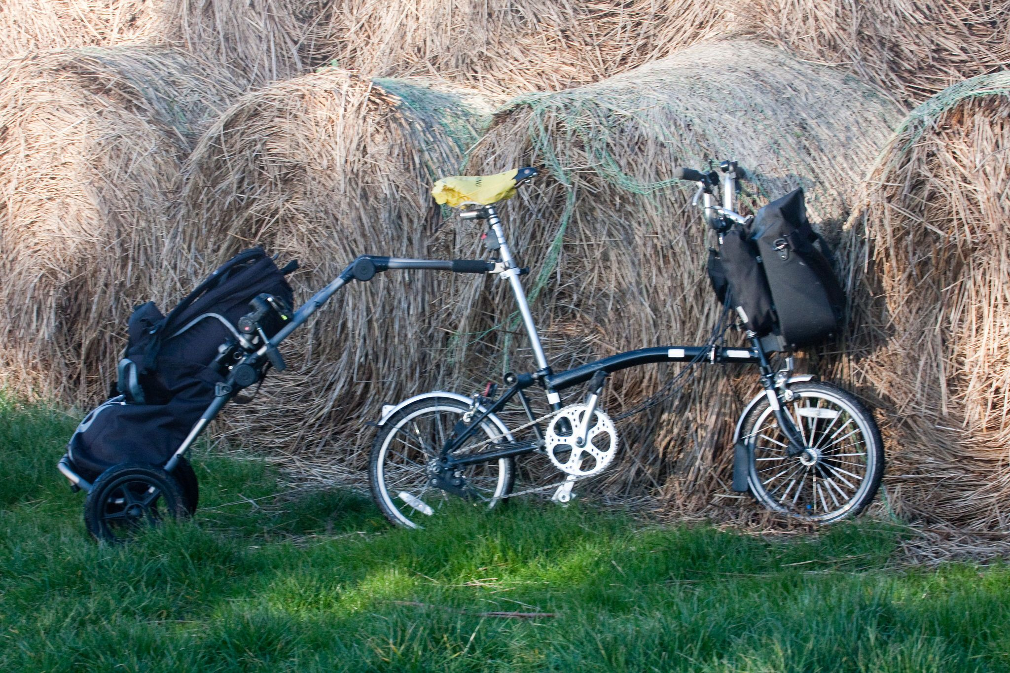 Brompton And Burly Brompton Bike Bicycle