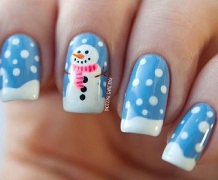 Explore Snowman Nail Art, Nice Nails and more! - Pin By Zoey Rew On Awesome Nails Pinterest