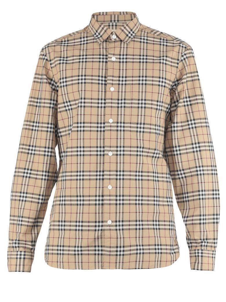 d7a7de204 Best price on the market at italist.com Burberry CAMEL SHIRTS ...
