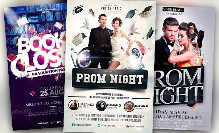 Best Graduation Prom Night Flyer Templates No1 -    www - free templates flyer