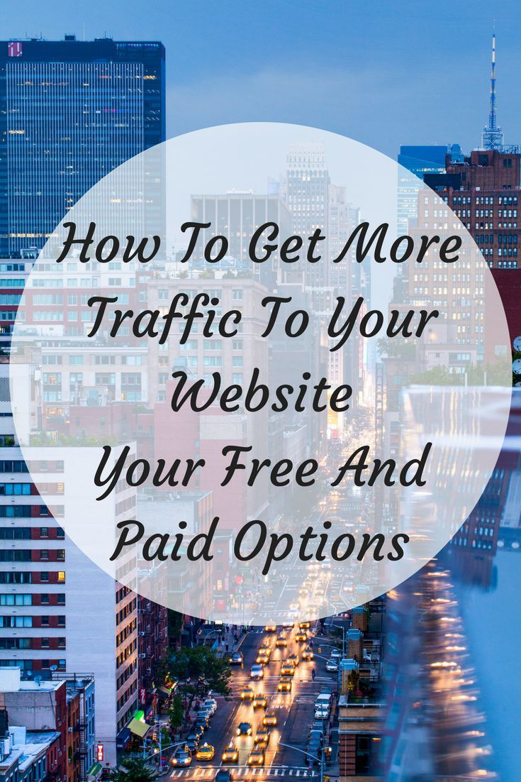 How Do I Get More Traffic To My Website  Your Free And Paid Options  Building Websites for Dummie How To Get More Traffic To Your Website  Your Free And Paid Options Read...