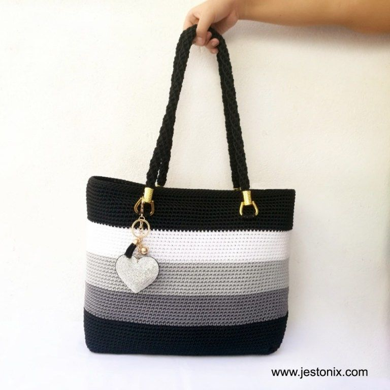 Crochet Simple Tote Bag for Beginners - Jestoni X
