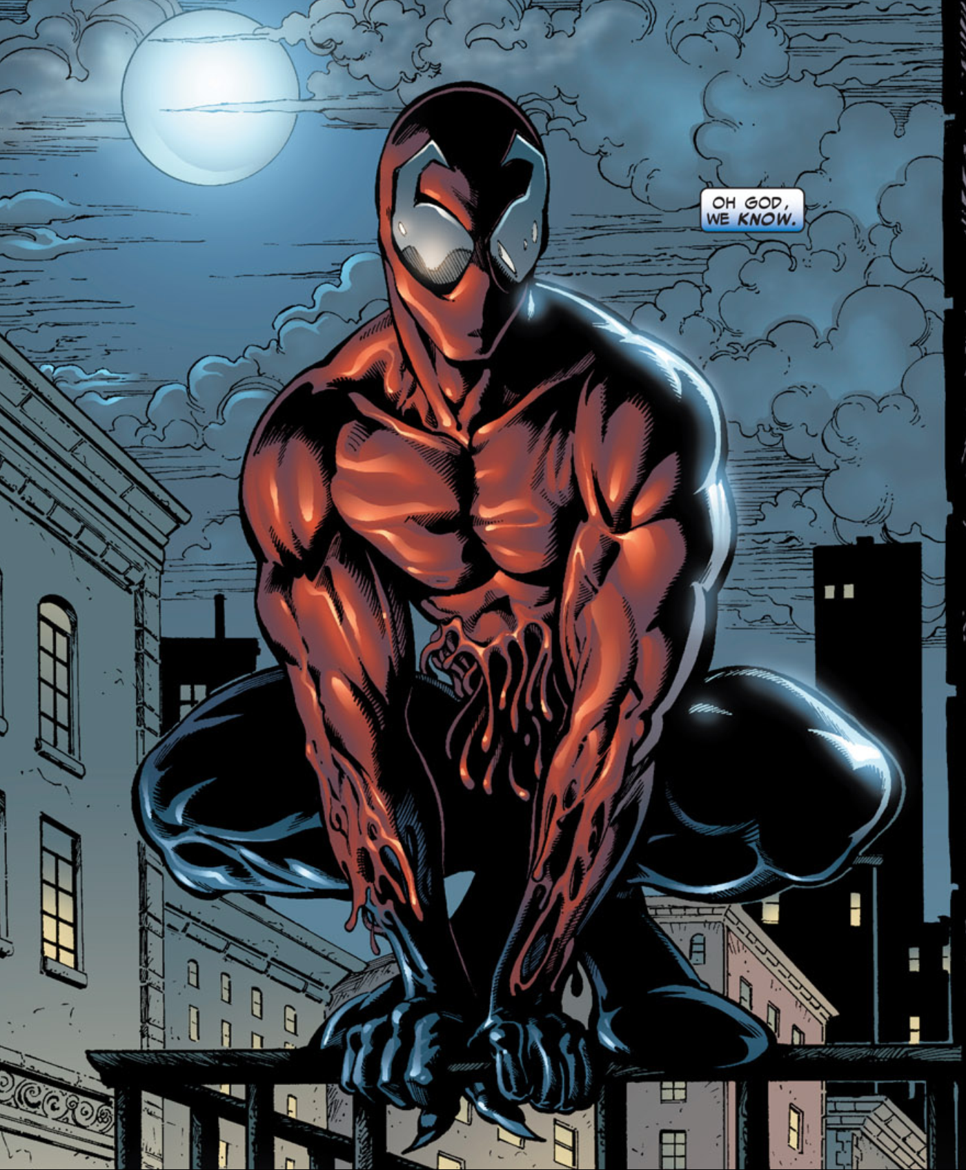 Image result for Toxin spiderman