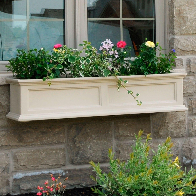 Fairfield window box or freestanding planter planters