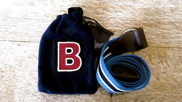 Belt in Personalised Gift Bag