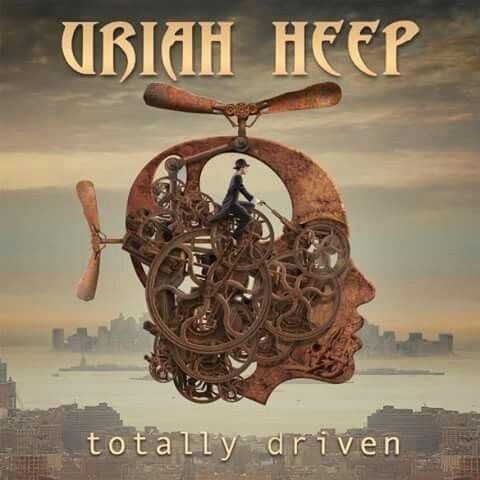 This Uriah Heep album cover is actually quite steampunk! | Digital ...