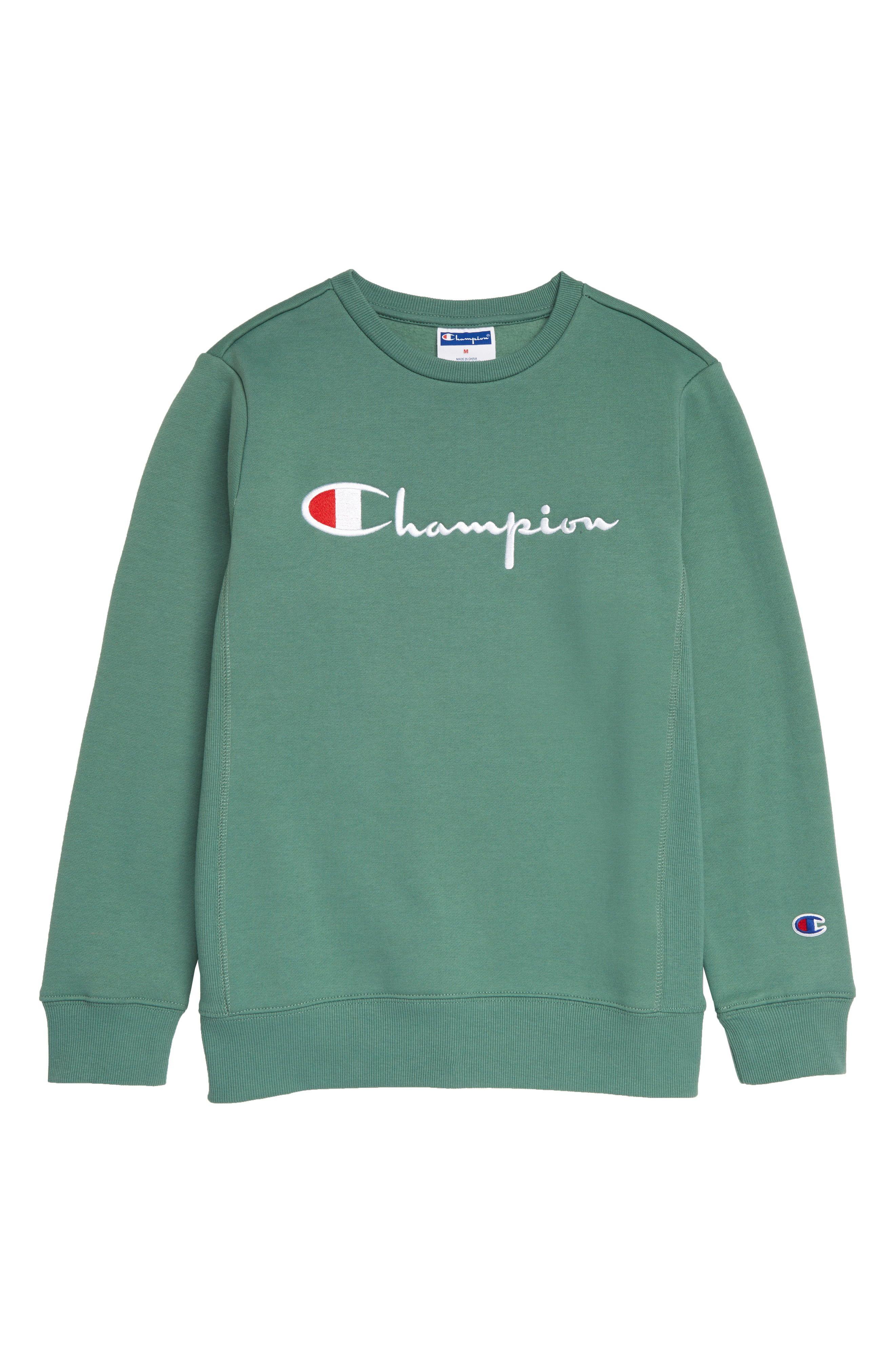 Champion Heritage Embroidered Premium Fleece Sweatshirt Available At Nordstrom Sweatshirt Fleece Sweatshirts Fleece [ 4048 x 2640 Pixel ]