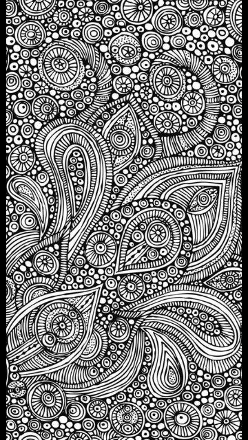 Ein Muster In Schwarz Weiß Mandala Zum Ausdrucken Muster Zum Ausmalen Ausmalen