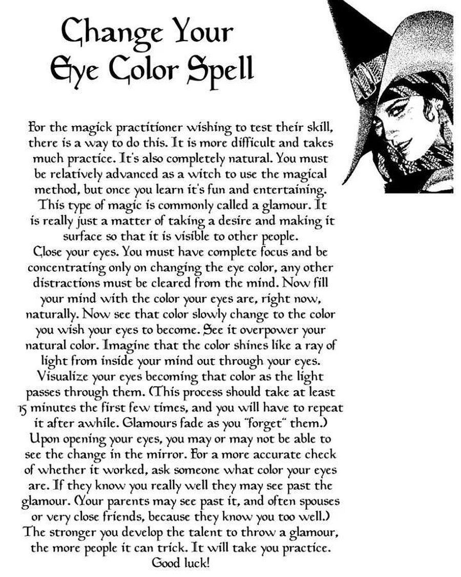 A glamour spell. - - - - - - - - - - #witches #witch #witchesofinstagram #magic #witchcraft #follow #wicca #like #pagan #wiccan #spells… #wiccanspells
