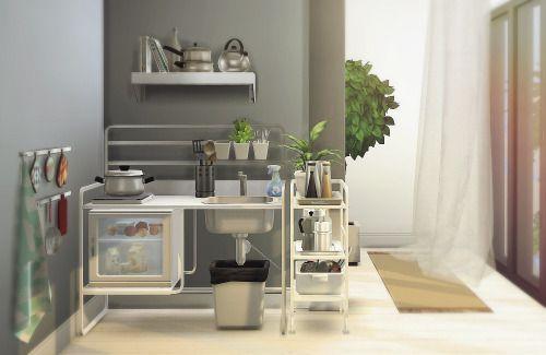 Sims 4 CCu0027s   The Best: U201cIKEA Inspiredu201d Kitchen Appliances By Moony Cat