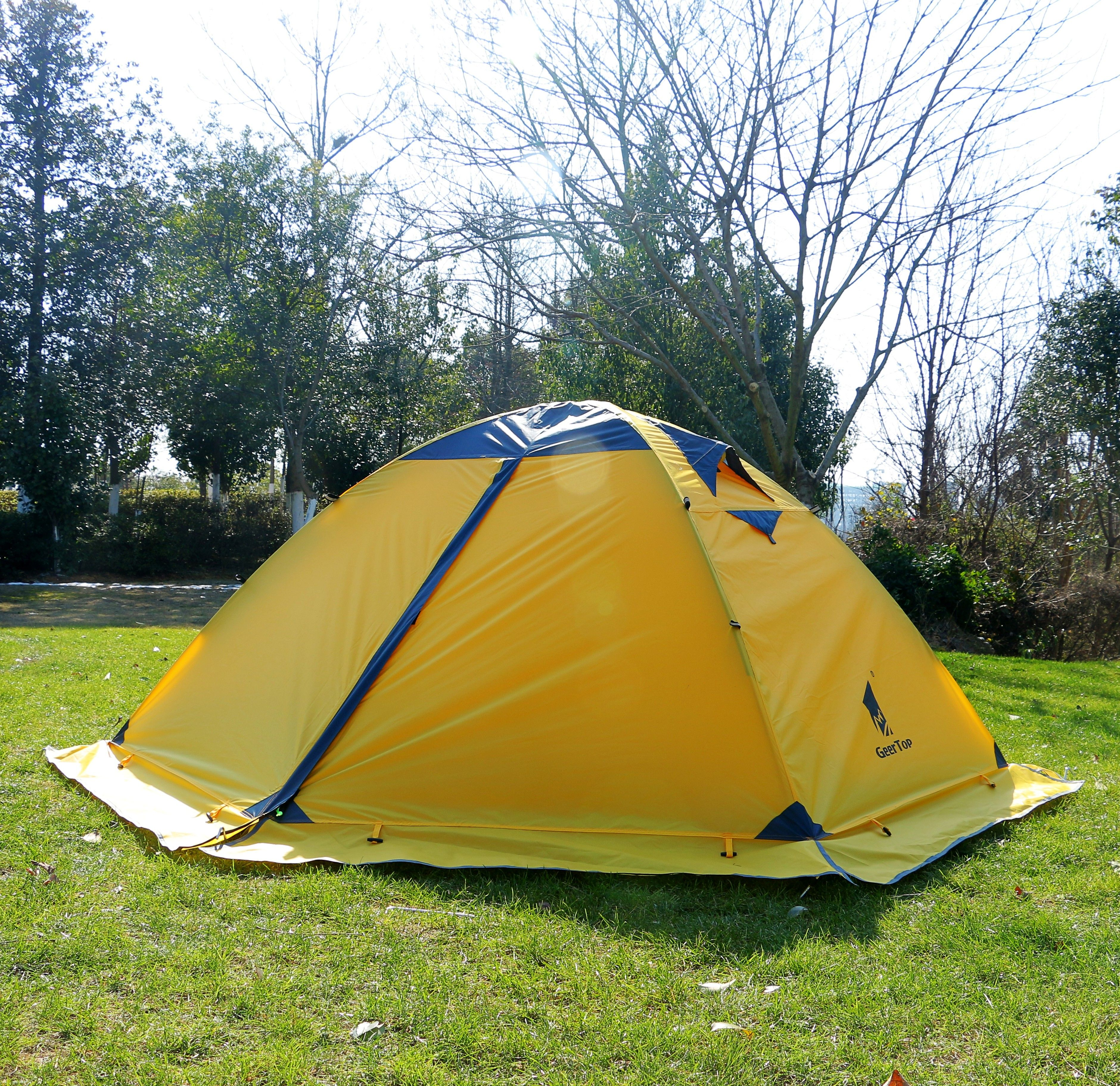 This is a 2 person 4 season lightweight tent suitable for c&ing hiking hunting & $102.99 ! This is a 2 person 4 season lightweight tent suitable ...