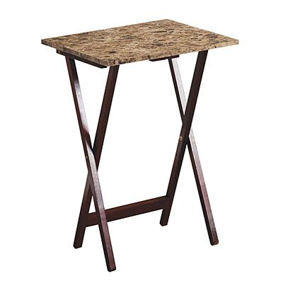 Stone Brown Tray Table Big Lots Tray Table Table Big Lots