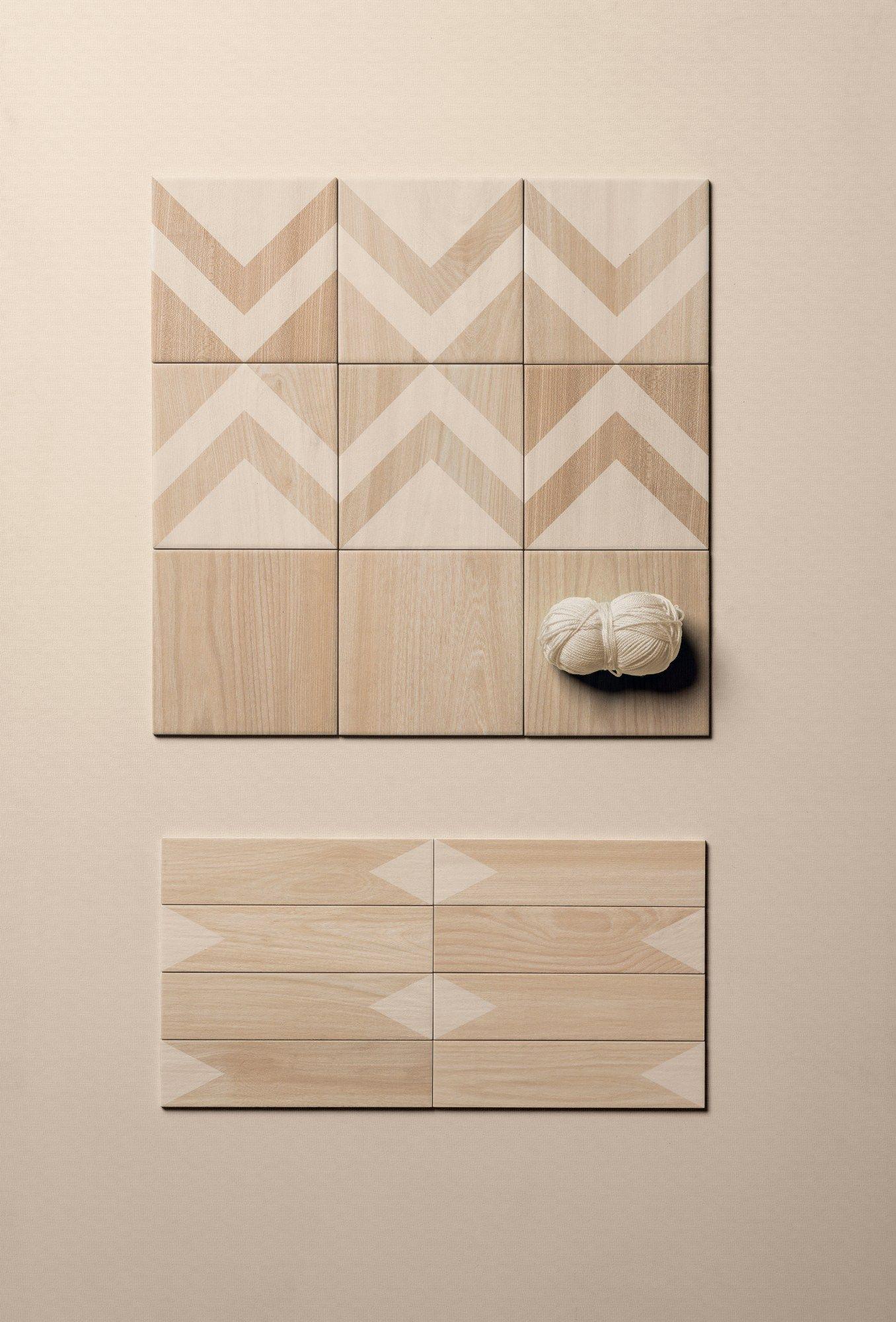 Pavimento/rivestimento in gres porcellanato effetto legno ESSENCES ...