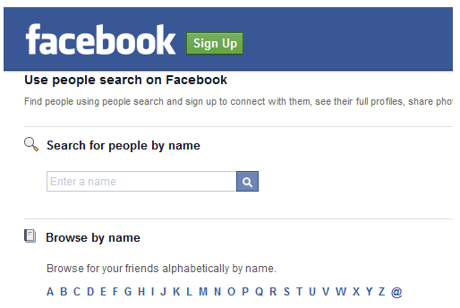 Find someone On Facebook without Joining | Facebook