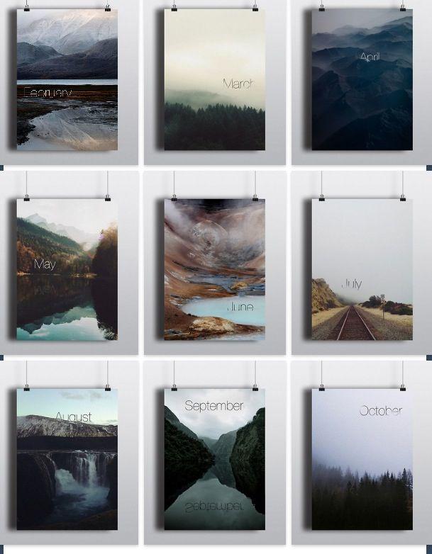 Photo calendar Desert Dreams Classroom in 2018 Pinterest
