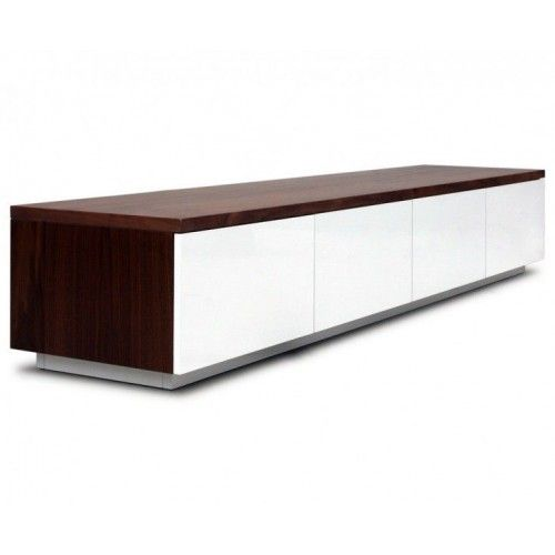 tv dressoir ho 19 1 8 noten moderne tv meubels tv meubel zen