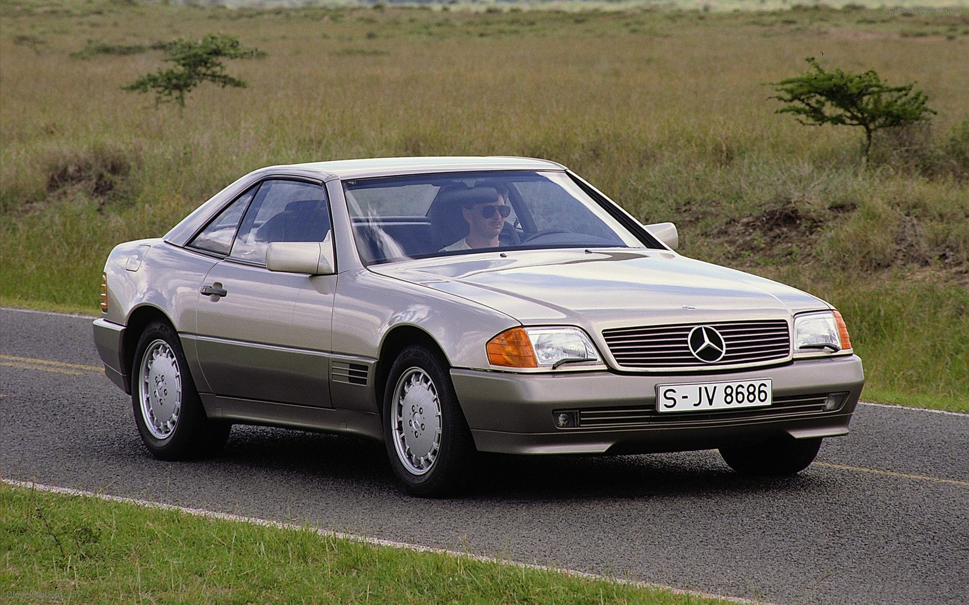 1989-2001 Mercedes-Benz SL R129 Widescreen Exotic Car Picture #13 of