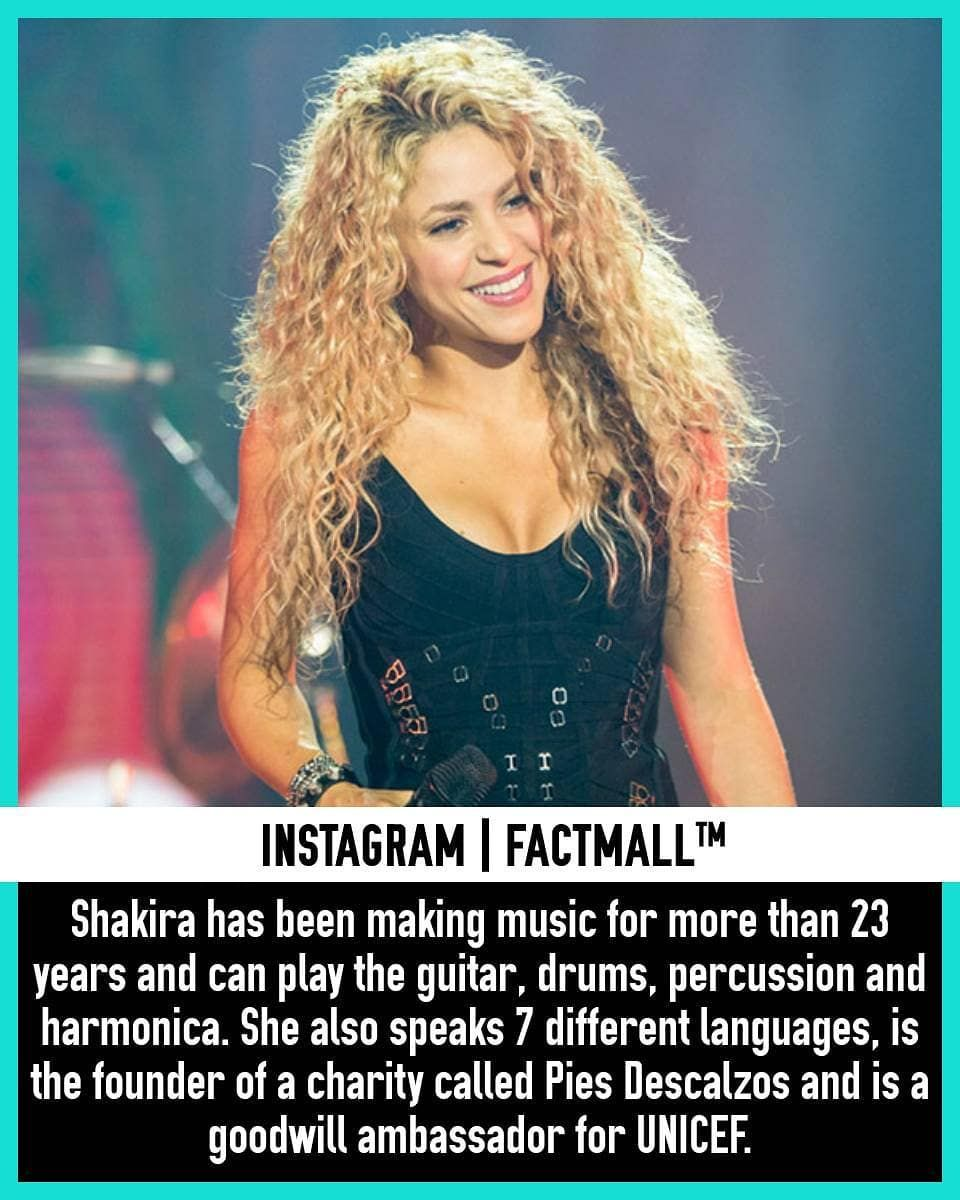 Chantaje Or Waka Waka In 2020 Shakira Facts Waka Waka