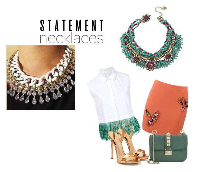 """Collared! Statement Necklaces -- Contest"" by nfashx ❤ liked on Polyvore featuring STELLA McCARTNEY, Delpozo, Valentino, Betsey Johnson and Giuseppe Zanotti"