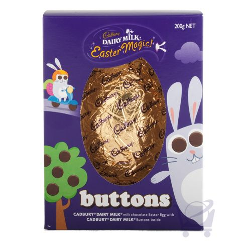 Buttons easter egg cadbury 200g shop new zealand easter buttons easter egg cadbury 200g shop new zealand negle Choice Image