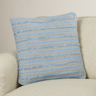 Bungalow Rose Luxembourg Wool Throw Pillow