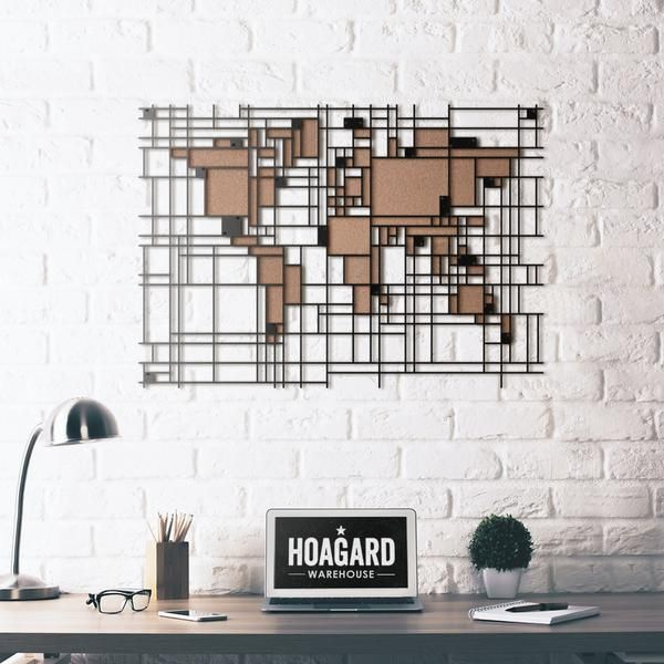 Limited product metal wall art mondrian world map voeg toe limited product metal wall art mondrian world map gumiabroncs Gallery
