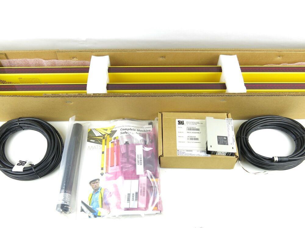 Details About Sti Light Curtains Mini Safe 4600 Series Ms46sr 30