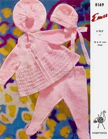 5a1d34485898 Emu Knitting Patterns for Baby