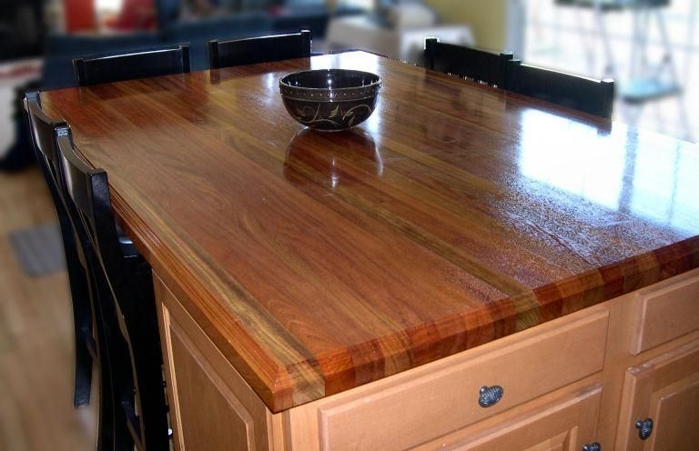 Waterlox Tung Oil And Low VOC Sealers And Finishes Protect Wood Countertops  With A Durable, Attractive Finish