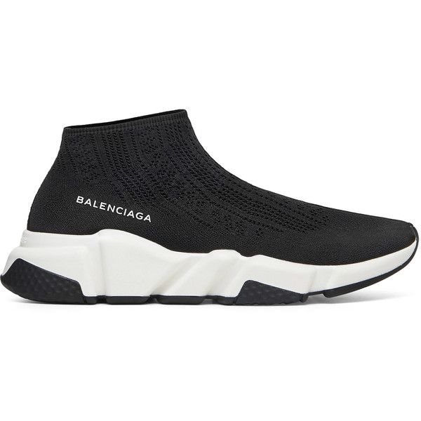 Balenciaga Wmns Speed Runner Low (€625) ❤ liked on Polyvore