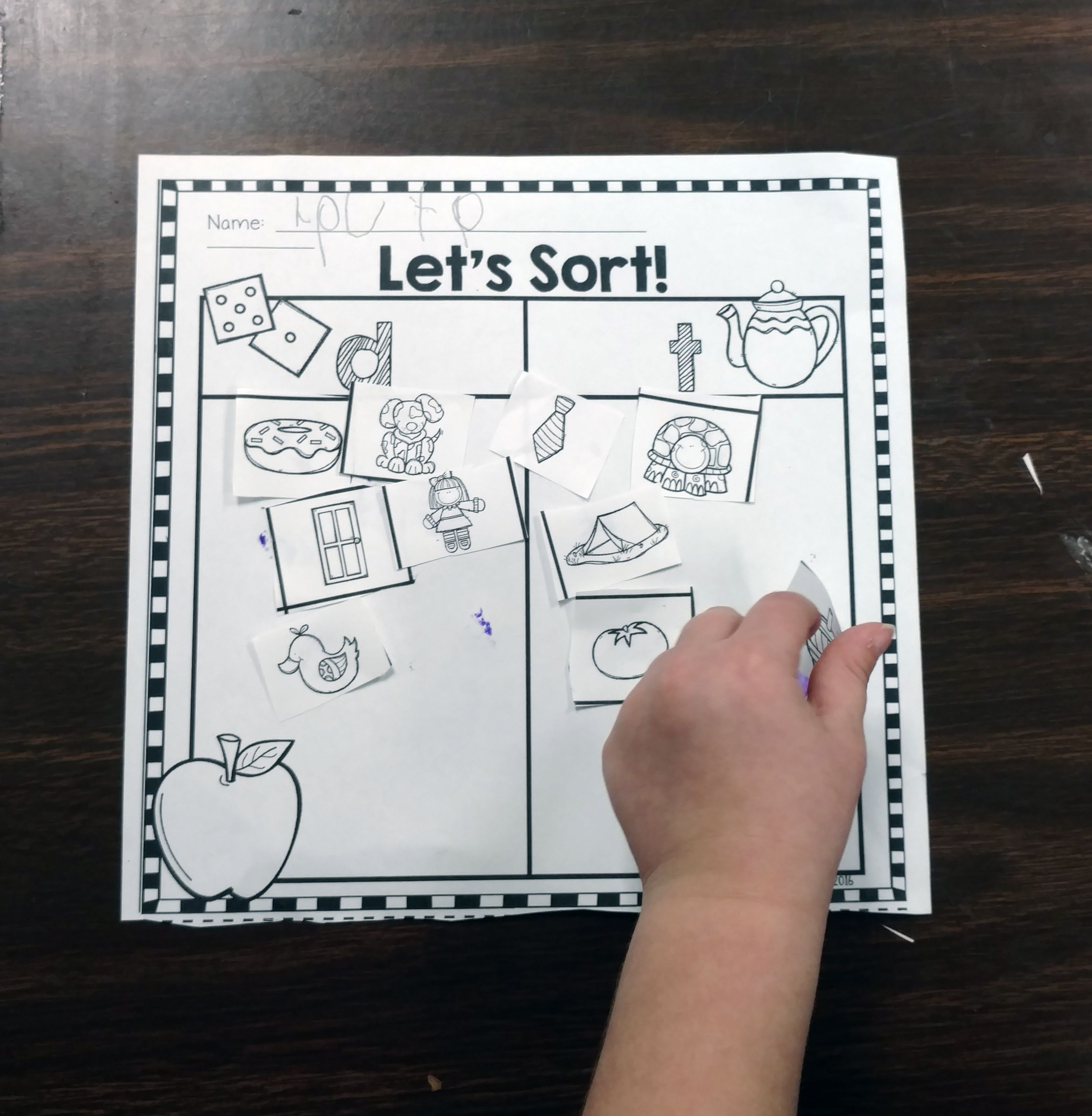 Phonemic Awareness Sorts Are Perfect For Practicing