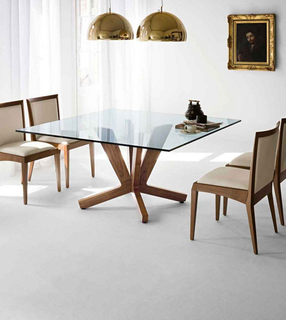 Simple Square Dining Table As Fancy Interior Gallery Is So Famous