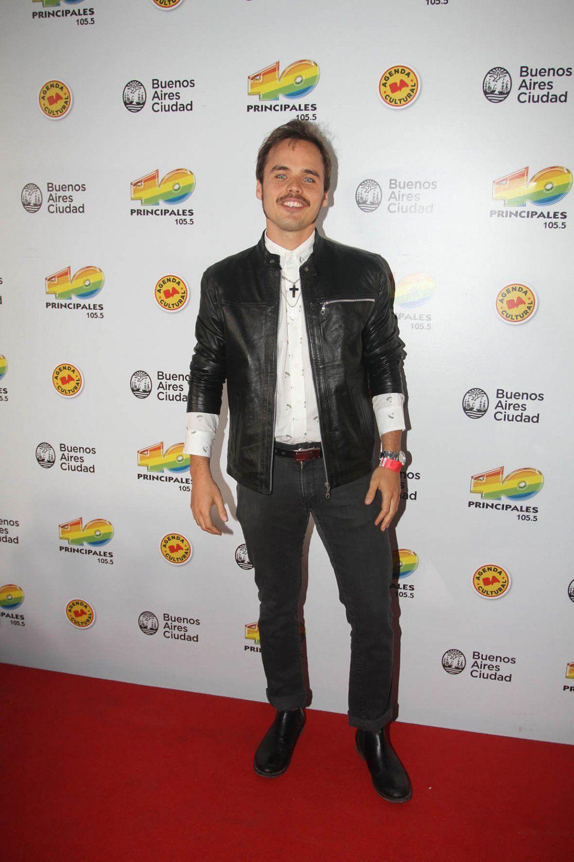 Benjamín Rojas - Premios Los 40 Principales - Buenos Aires 2014