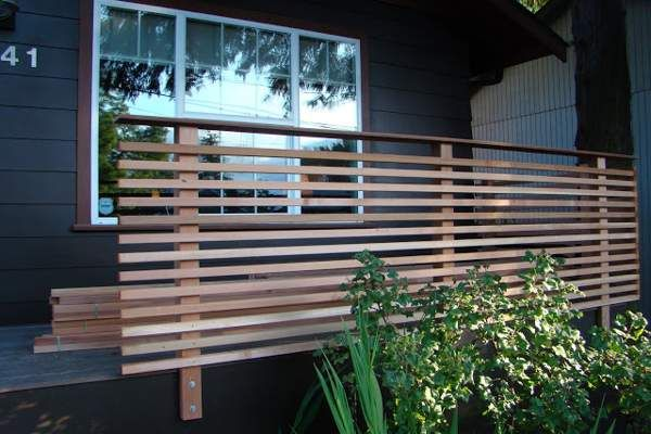 Privacy Fence For Apartment Patio Landscaping Gardening Ideas