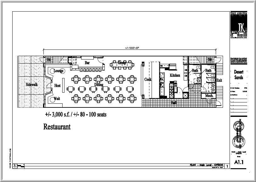 How To Create A Restaurant Floor Plan Ehow Com Floor Plan