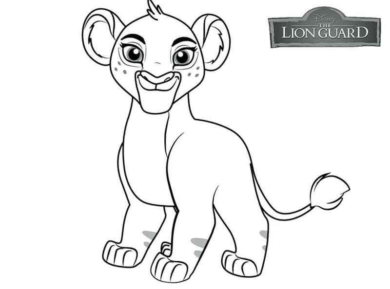 Lion Guard Coloring Page 1 Lion Coloring Pages Cartoon Coloring Pages Lion King Fan Art