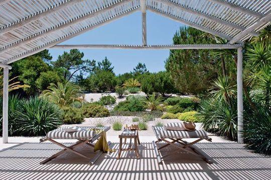 Terrasse ombragée option farniente Au coeur d\'une nature ...