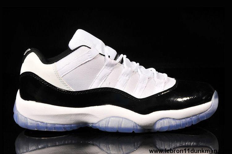 Fashion White Black-Dark Concord Air Jordan 11 Retro Low Shoes Store ... 783938b01