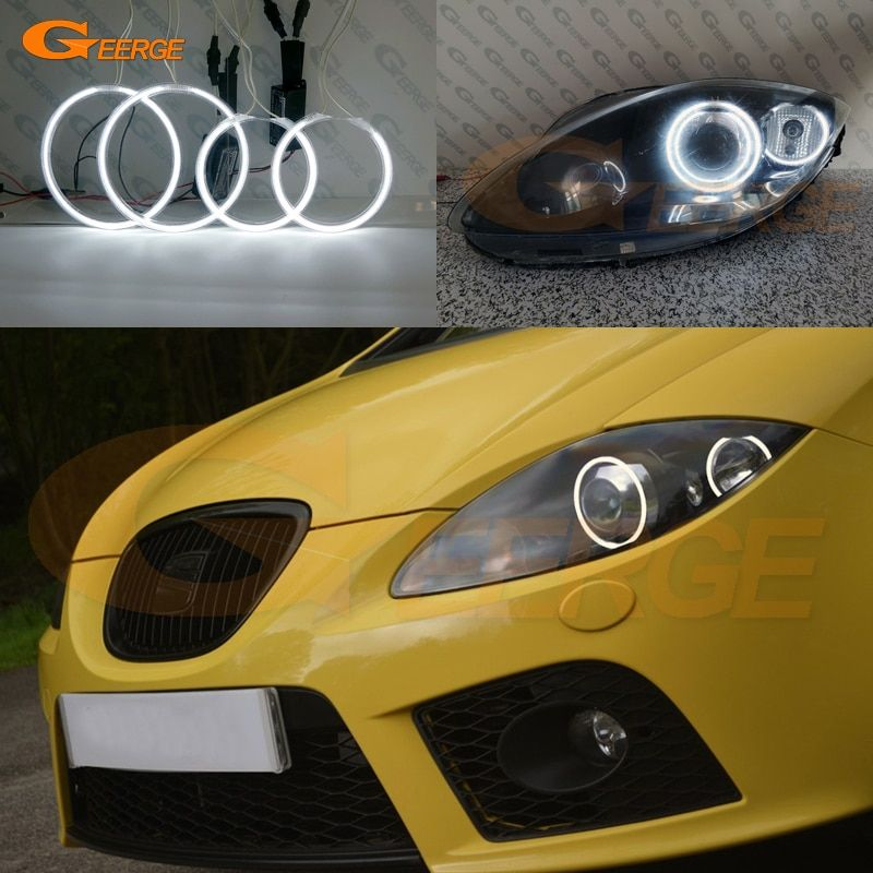 Cheap Car Light Accessories Buy Directly From China Suppliers For Seat Leon Mk2 1p Facelift 2009 2012 Xenon Headlight Excellen Seat Leon Car Lights Angel Eyes