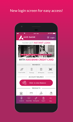 Download Axis Mobile Fund Transfer Upi Recharge Payment Apk Finance App Instant Loans Online Savings Account