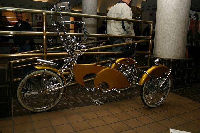Lowrider bike & car show @Mary Sue McGinnis Blank College, Chicago