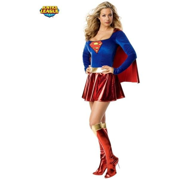 Costumes.  sc 1 st  Pinterest & Sexy Superman Supergirl Adult Costume ($60) ? liked on Polyvore ...