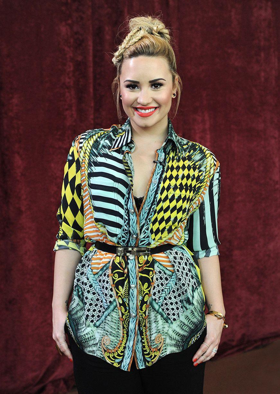 Demetria Lovato X Factor Denver Fashion Looks