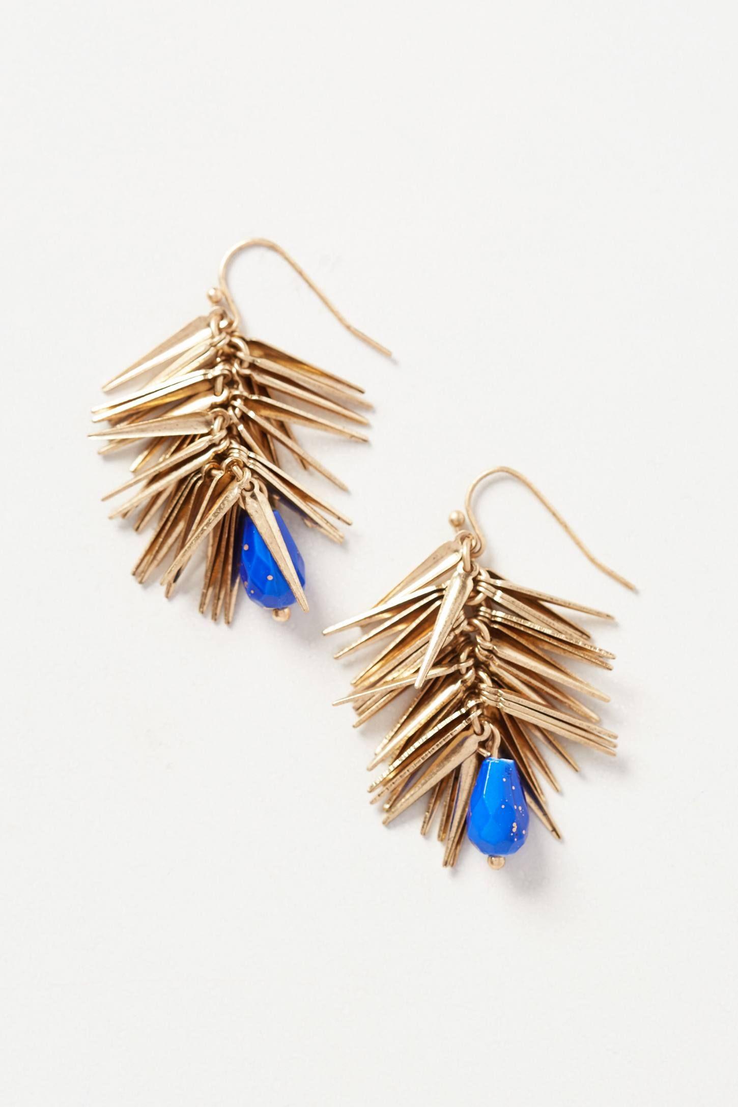 Thistle Coast Earrings - anthropologie.com