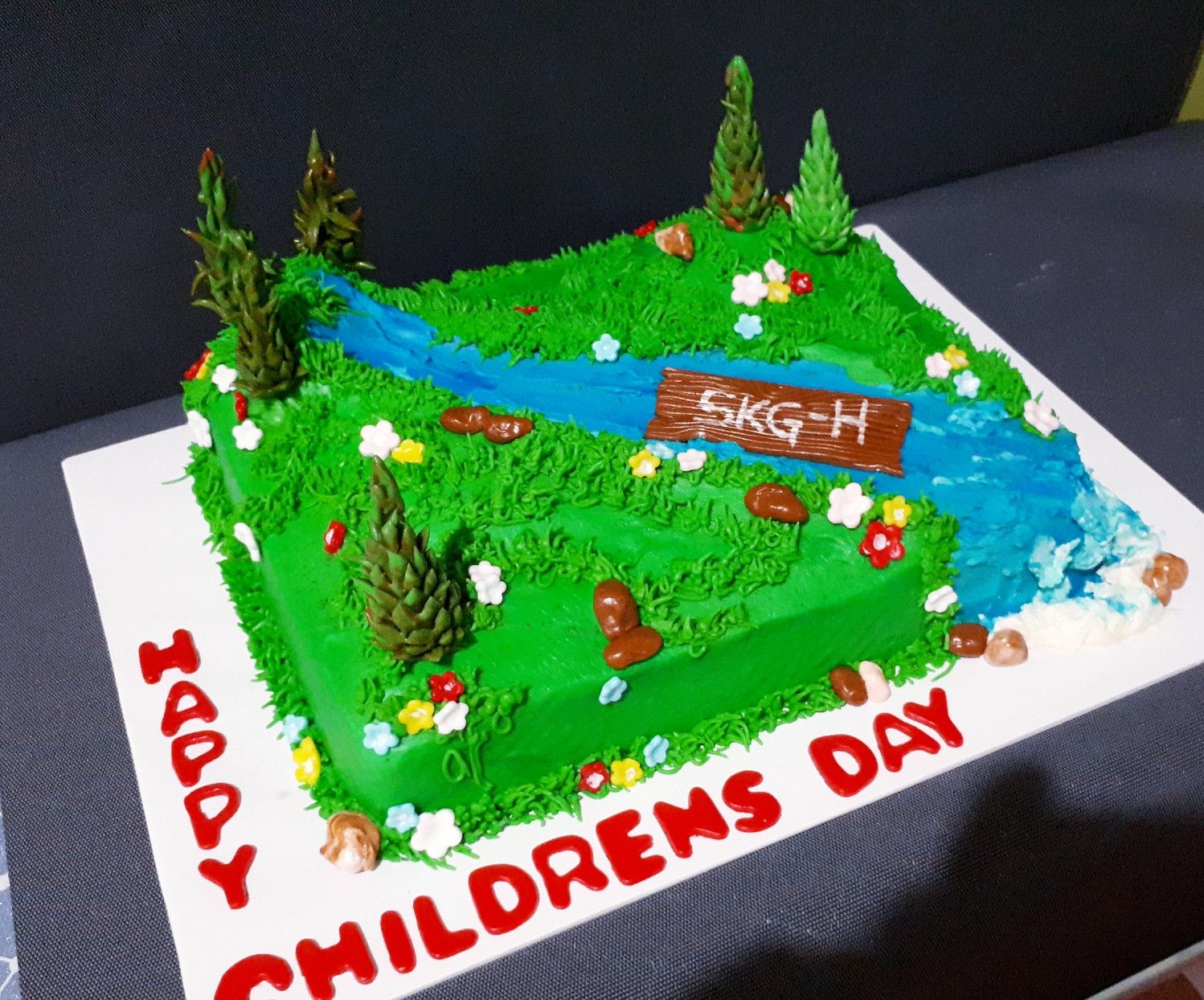 Children S Day Cake Cake How To Make Cake Child Day