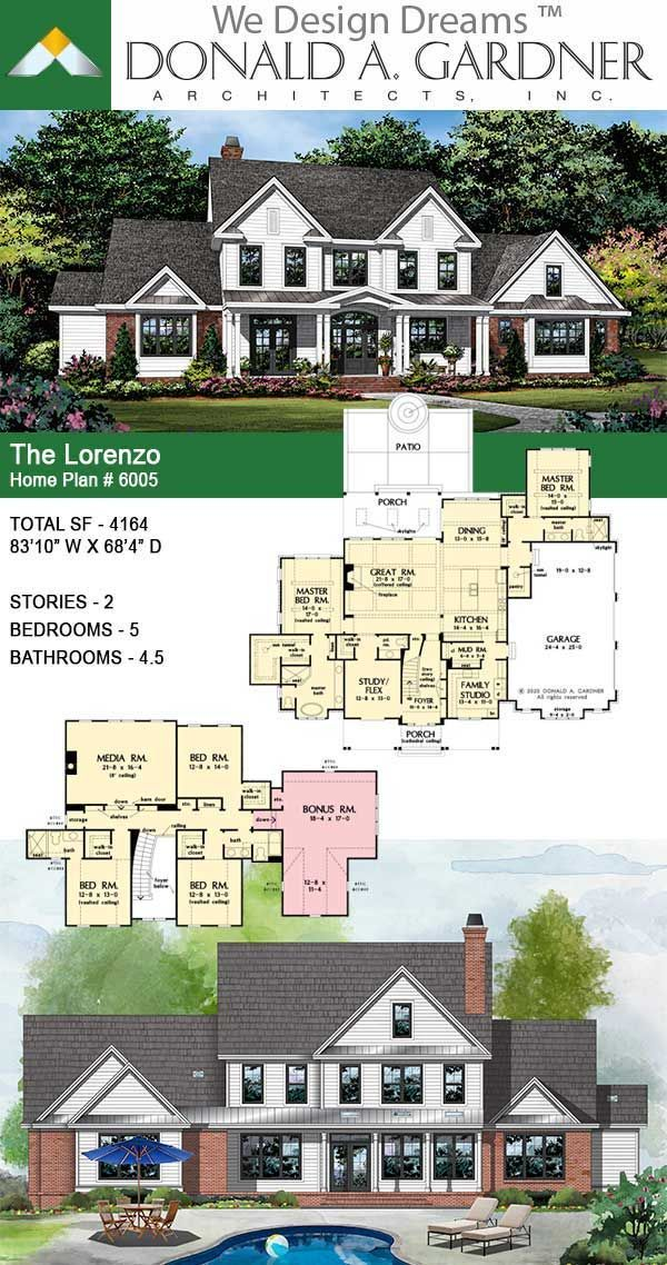 House Plans - The Lorenzo - Home Plan 6005