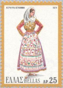 Female Costume from Lefkimmi, island of Korfu